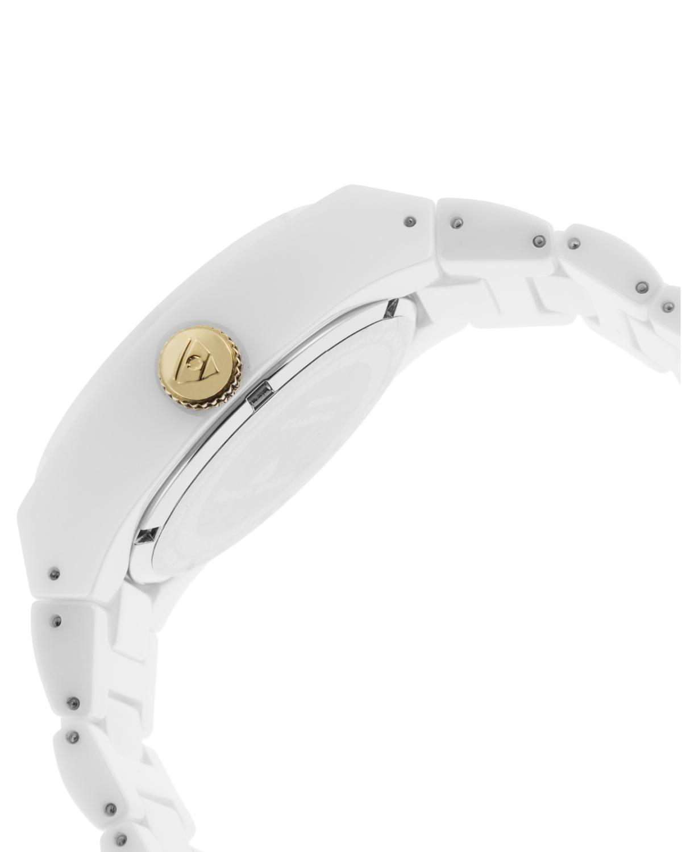 Swiss Legend 瑞士传奇 Throttle系列白色石英机芯女士手表 SL-10054-WWTGA 金色