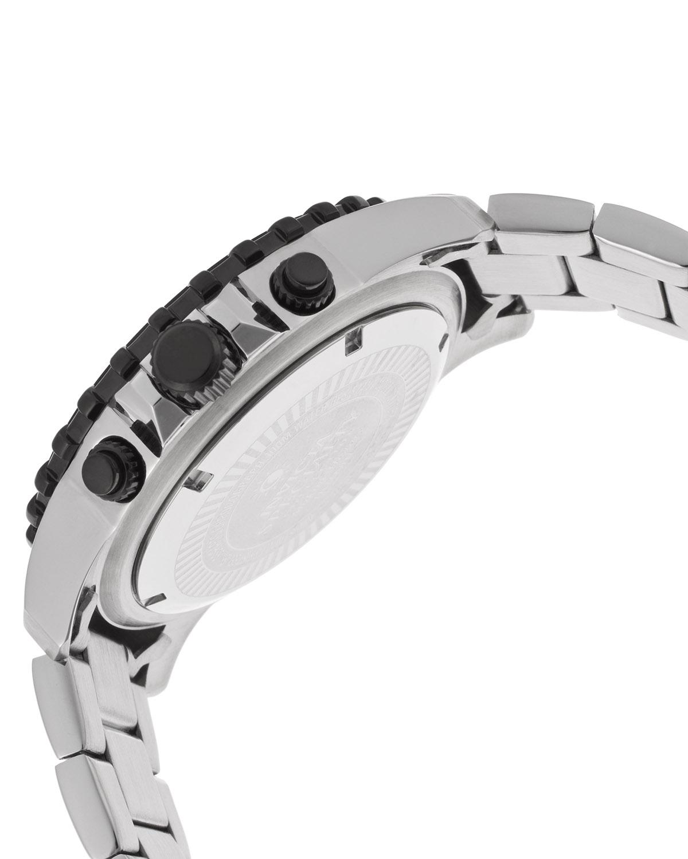 Invicta 因维克塔Specialty系列不锈钢圆形银黑色石英机芯男士手表 INVICTA-17068