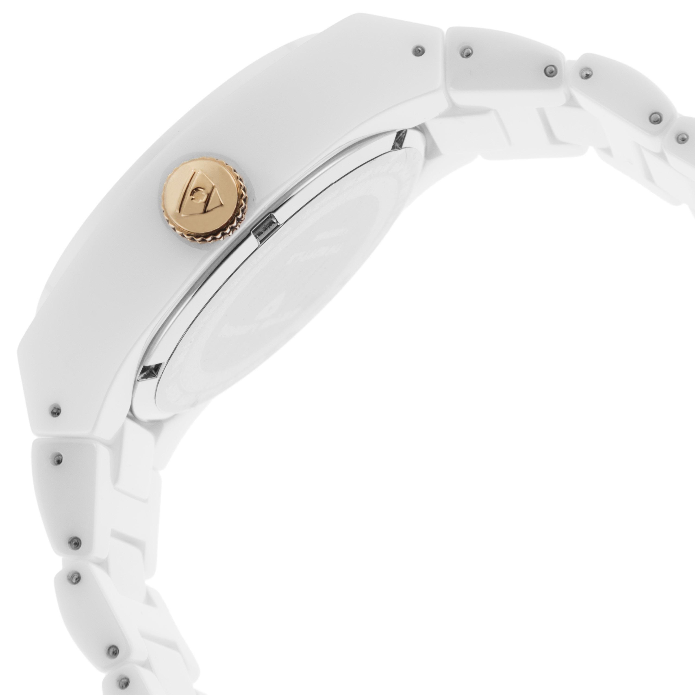 Swiss Legend 瑞士传奇Throttle系列陶瓷白色石英机芯女士手表 SL-10054-WWTRA 玫瑰金