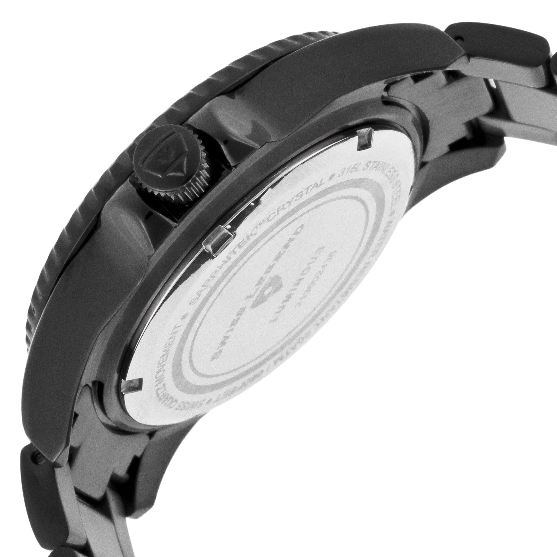 Swiss Legend 瑞士传奇Luminous系列离子镀不锈钢石英男表 SL-21344-BB-77-YB
