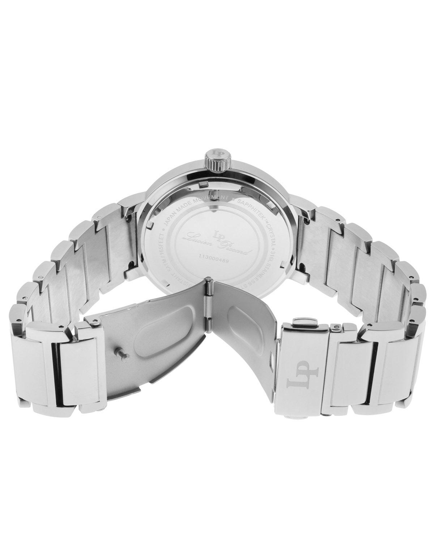 Lucien Piccard 卢森皮卡尔Marbella系列不锈钢圆形银色石英机芯女士手表 LP-11313-11