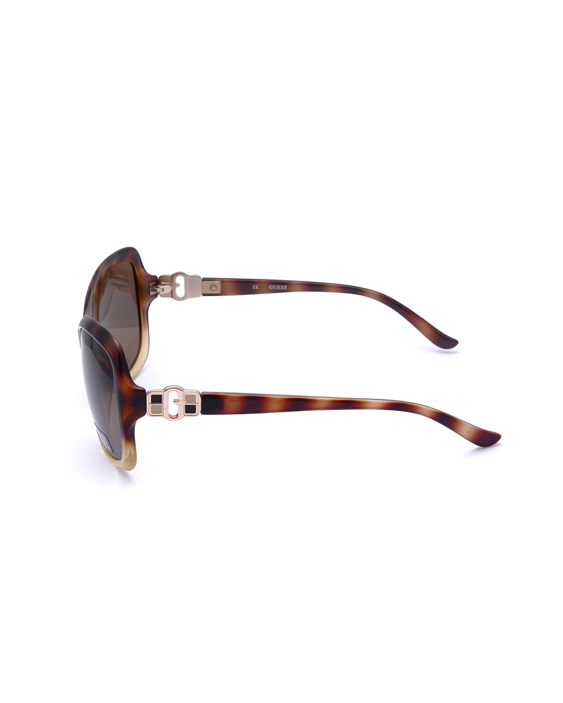 美式潮牌 Guess 盖尔斯 经典爆款女士太阳眼镜 GU7130-TOIV1