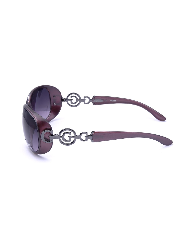 美式潮牌 Guess 盖尔斯 镂空优雅复古时尚女士太阳镜 GUF7022-PUR58