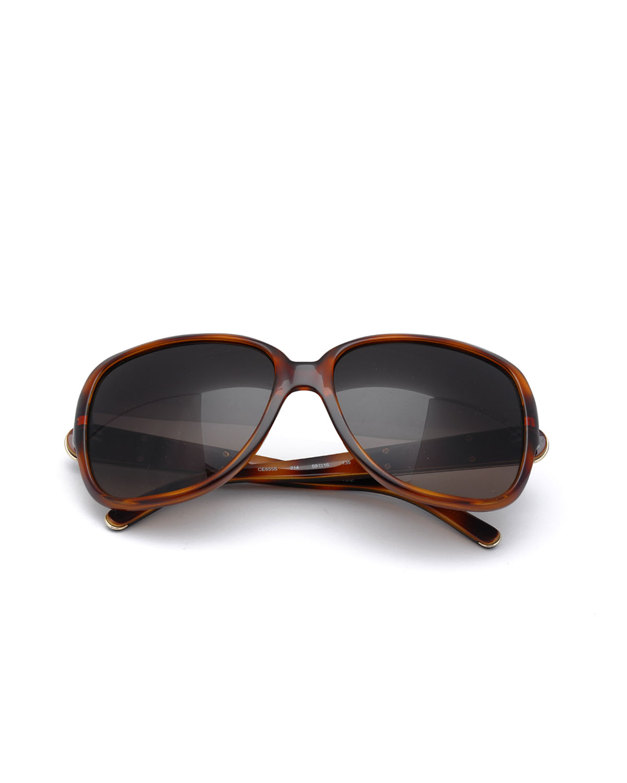 法国 Chloe 蔻依 时尚女士太阳眼镜 CE655S-214