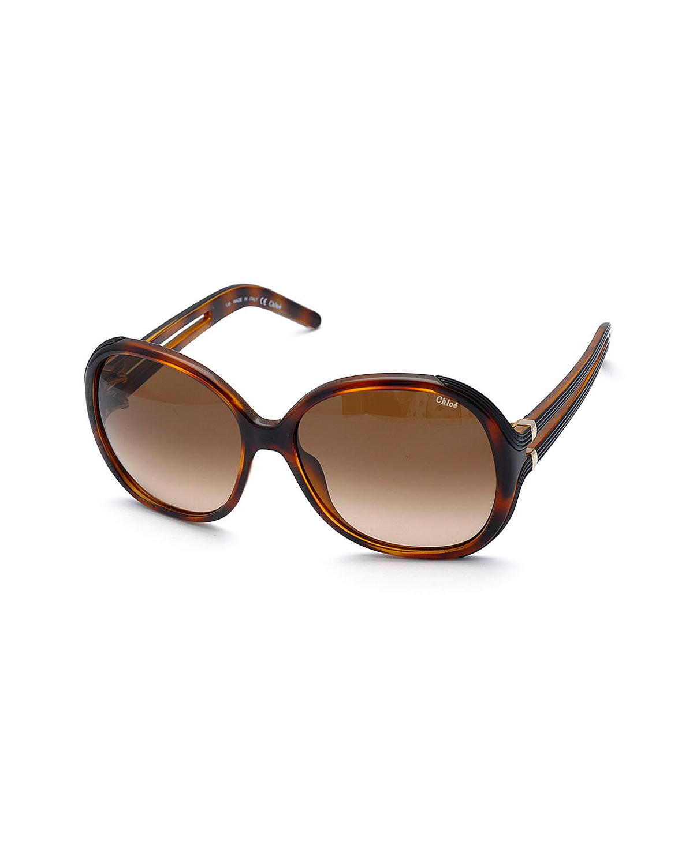 法国 Chloe 蔻依 时尚女士太阳眼镜 CE651S-214