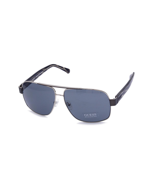 【街拍必备.拽酷出行】美式潮牌 Guess 盖尔斯 潮人必备男士太阳眼镜 GU6741GUN-3