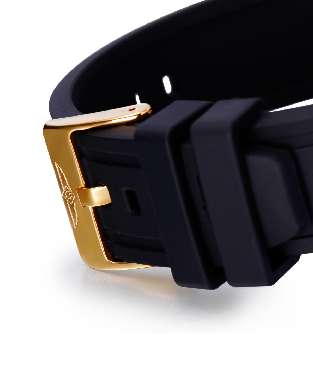 Invicta 因维克塔Specialty系列镀18K金不锈钢圆形黑色机械机芯男士手表 INVICTA-16279