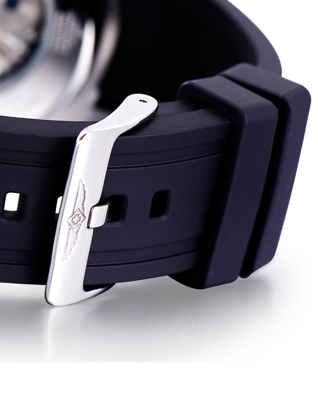 Invicta 因维克塔Specialty系列不锈钢圆形黑色硅胶机械机芯男士手表 INVICTA-16278