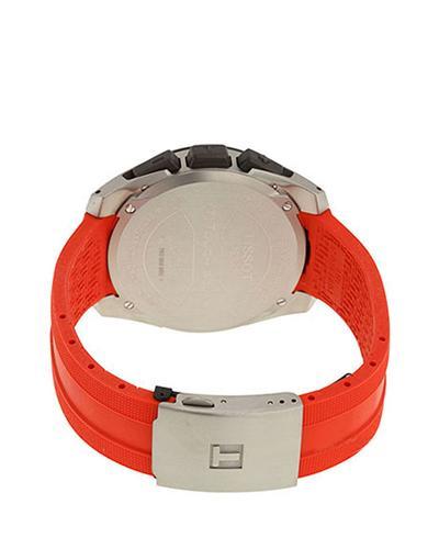 瑞士名表 Tissot 天梭 腾志系列运动男士防水橡胶表带石英表 T091.420.47.057.00