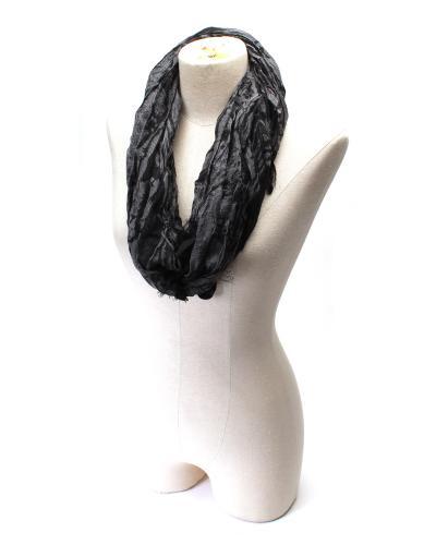 美式潮牌 Guess 盖尔斯魅力黑时尚女士围巾