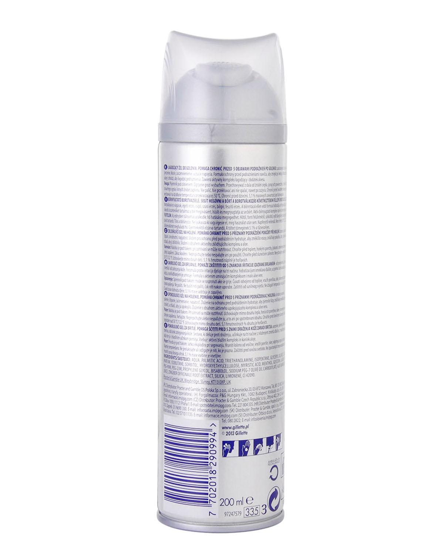 美国 Gillette 吉列 锋速3系列保湿温和型剃须啫哩 200ml 保质期到2018-12-01