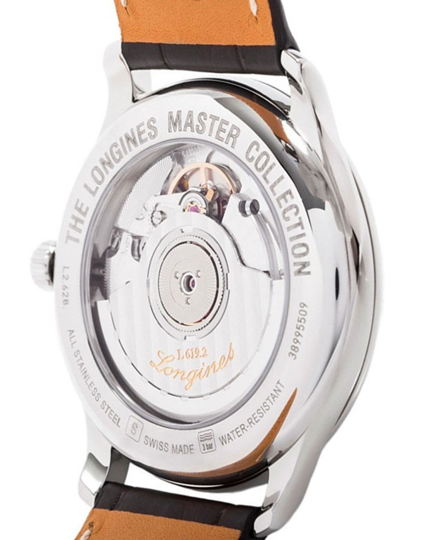 瑞士 Longines 浪琴 名匠系列 真皮男士自动机械表 L2.628.4.78.5