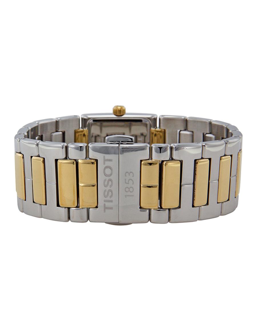 瑞士 Tissot 天梭 T-LADY系列精致简约女士石英机芯腕表 T090.310.22.111.00