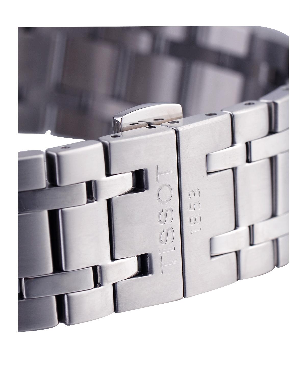 瑞士名表 Tissot 天梭 杜鲁尔系列罗马刻度三眼男士自动机械腕表T099.427.11.038.00