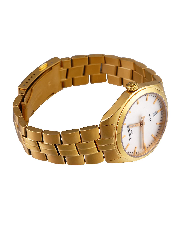 瑞士名表 Tissot 天梭 奢华简约款男士石英机芯腕表T101.410.33.031.00