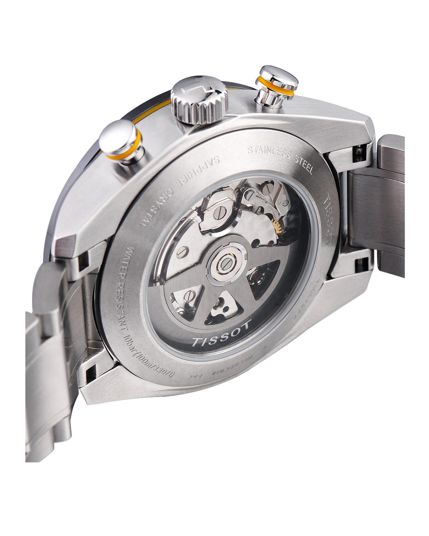 瑞士 Tissot 天梭 T-Sport系列男士自动机械机芯腕表T100.427.11.051.00