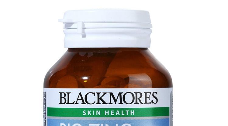 保税区直发 澳大利亚Blackmores澳佳宝 活性锌 168粒