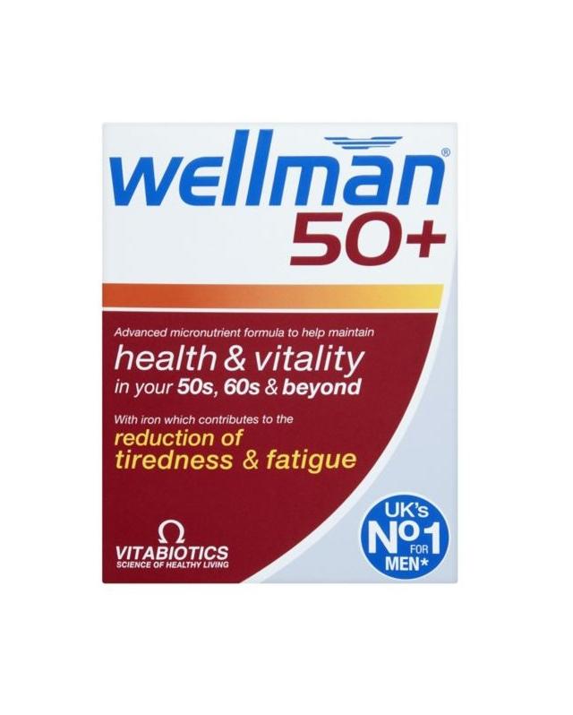 英国 Wellman 男性中老年维生素30片