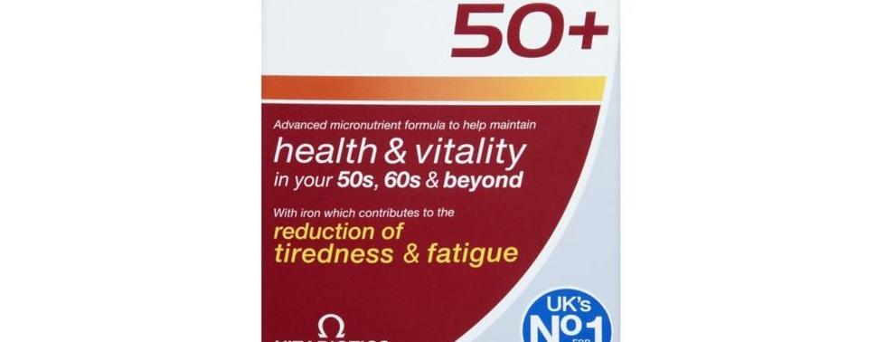 英国Wellman男性中老年维生素30片