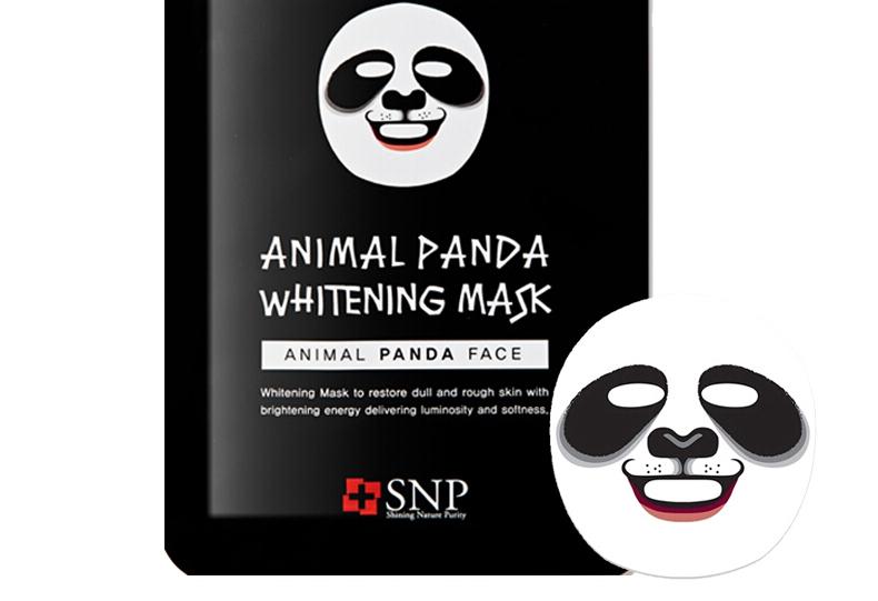 【萌萌哒】韩国 snp 动物面膜熊猫 美白保湿提亮面膜10片