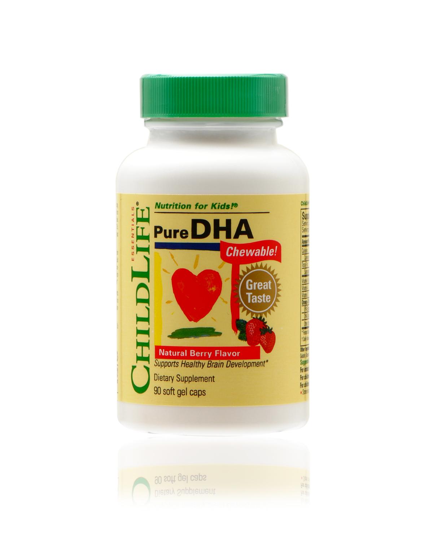 美国 Childlife 童年时光 婴幼儿精纯DHA咀嚼胶囊 90粒