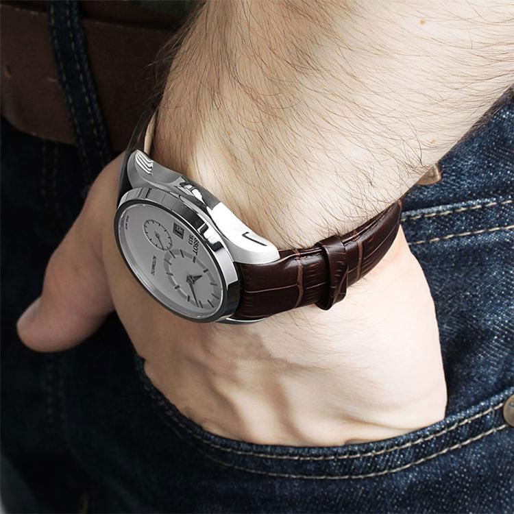 (预售)瑞士 Tissot 天梭 库图系列男士机械腕表 T035.428.16.031.00