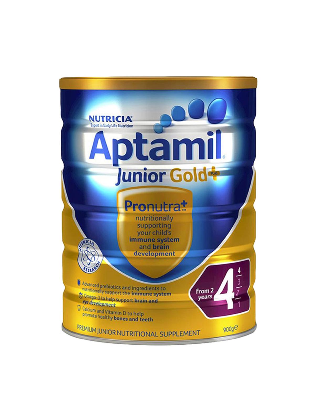 Aptamil 爱他美婴幼儿奶粉 澳洲版4段金装2岁以上900g 2罐装