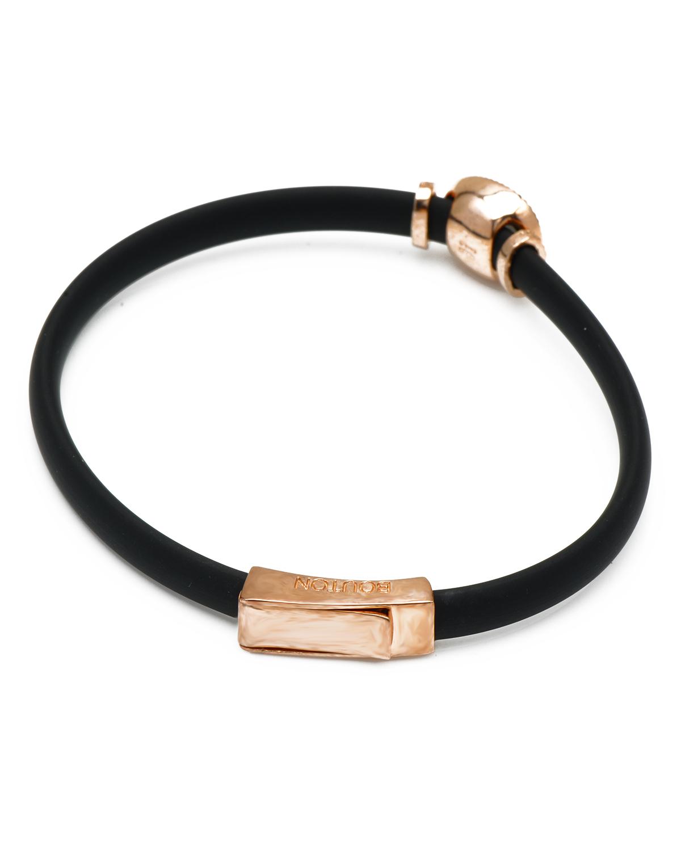 Bouton 同名串珠黑色橡皮手链