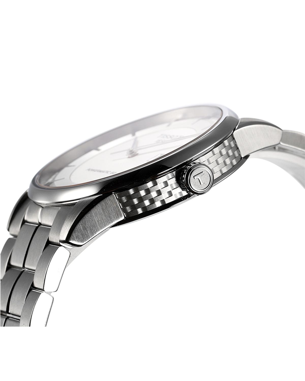 瑞士名表 Tissot 天梭 豪致系列简约时尚男士机械腕表 T086.407.11.031.00