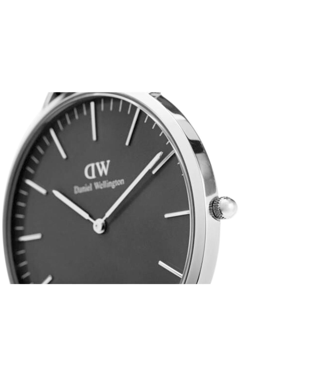 瑞典 Daniel Wellington 丹尼尔惠灵顿 40mm银边皮带男士石英手表 DW00100134