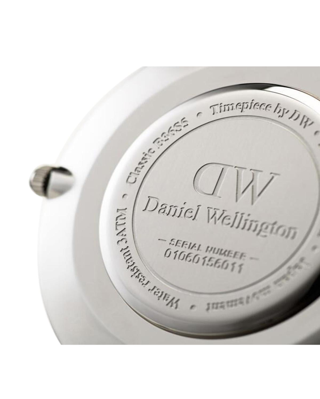 瑞士 Daniel Wellington 丹尼尔惠灵顿 40mm银边皮带男士石英手表 DW00100134
