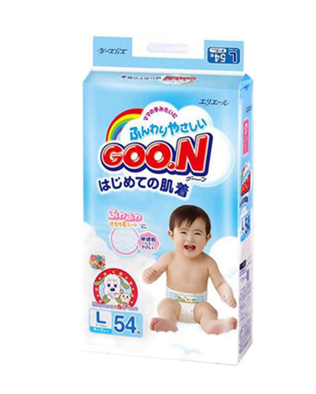 日本大王 GOO.N 婴幼儿纸尿裤标准装 L54 适用于9-14kg宝宝