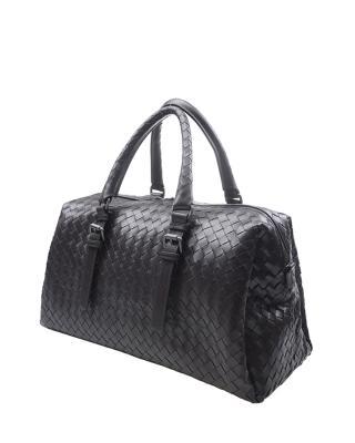意大利 Bottega Veneta 宝缇嘉 深咖色华贵内敛经典款女士手提包
