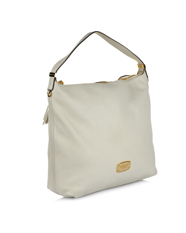 美国 Michael Kors 迈克高仕 白色真皮女士拉链手拿包