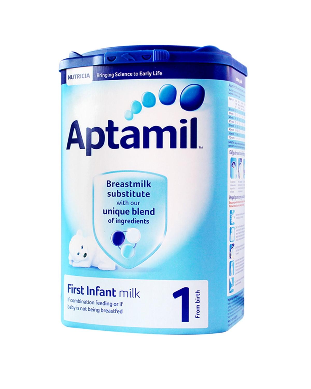 英国版 Aptamil 爱他美 婴幼儿奶粉1段(0-6个月)900g 2罐装