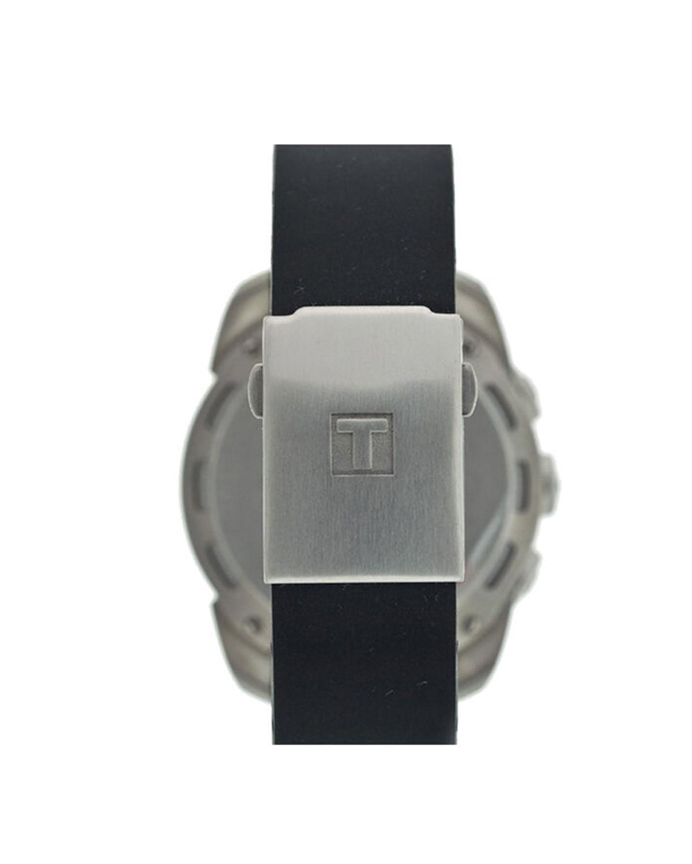 瑞士名表 Tissot 天梭 潮流炫酷双表盘运动石英男表T013.420.47.202.00
