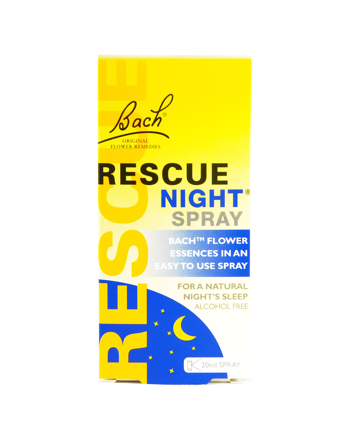 英国 Rescue Night 巴赫花喷雾 20ml