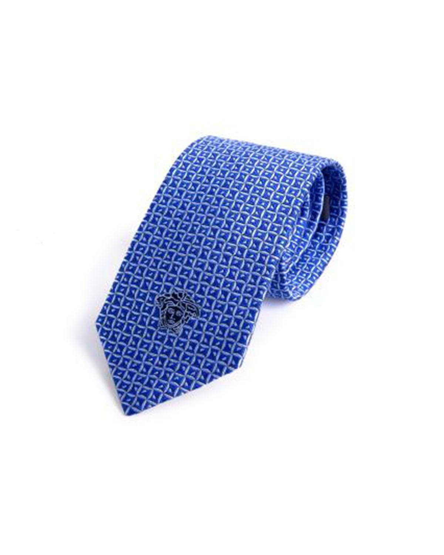 意大利 Versace 范思哲 绅士必备商务男士真丝领带