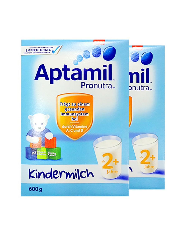 德国版 Aptamil 爱他美婴幼儿奶粉2+段 24个月以上宝宝 600g 2盒装