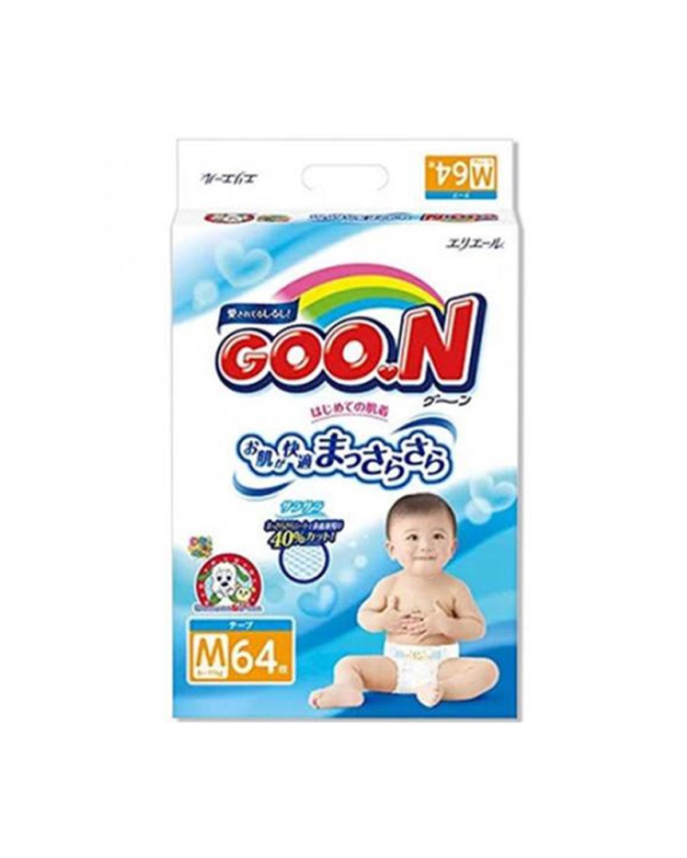 日本大王 GOO.N 婴幼儿纸尿裤 M64 适用于6-11kg宝宝 两件装