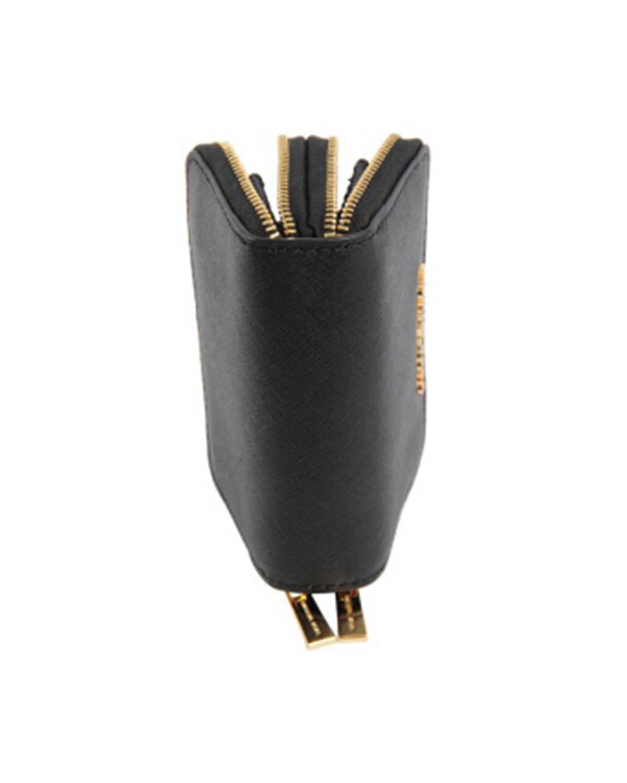 美国 Michael Kors迈克高仕  黑色真皮女士拉链钱包手拿包 32F6GTV-D4L-BLACK