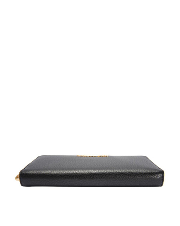 美国 Michael Kors迈克高仕 黑色女士长款手拿钱包32H2MBF-E1L-BLACK
