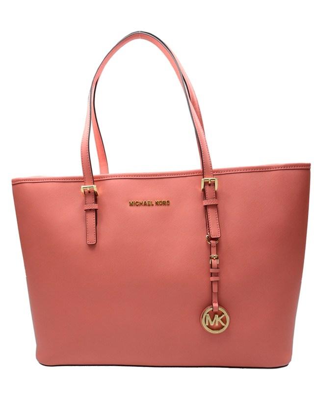 美国 MICHAEL KORS 迈克高仕 粉红色皮革女士单肩包 30T5GTVT2L 665