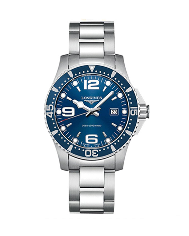 瑞士 Longines 浪琴 康卡斯系列 魅力潜水酷炫石英机芯男表 L3.640.4.96.6