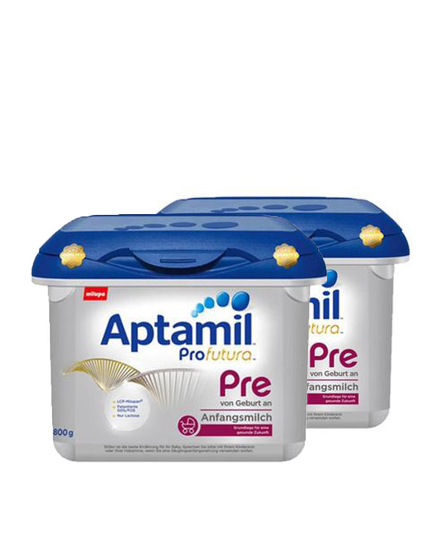 德国 Aptamil 爱他美婴儿奶粉白金版PRE段 800g 0-3个月 2罐装