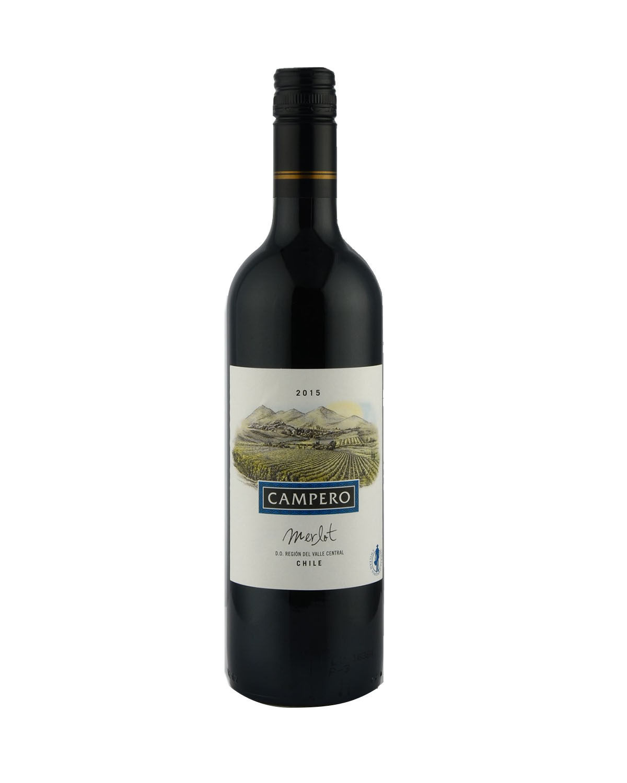 智利 2015 Campero Merlot 金宝路美乐红葡萄酒 750ml 12.5%Vol