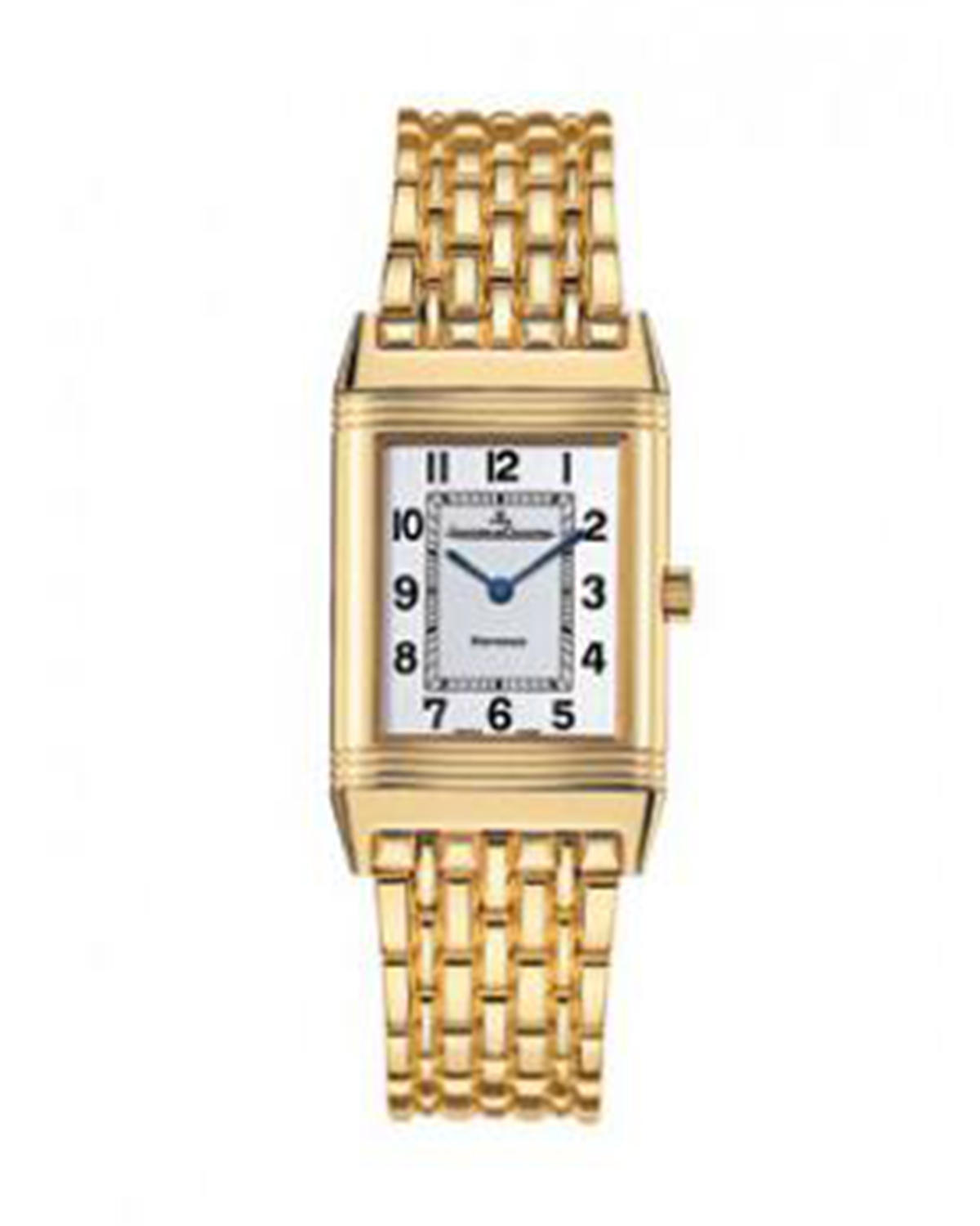 Jaeger Le-Coultre 积家 Reverso Classique 18K黄金 石英男士腕表 2511110
