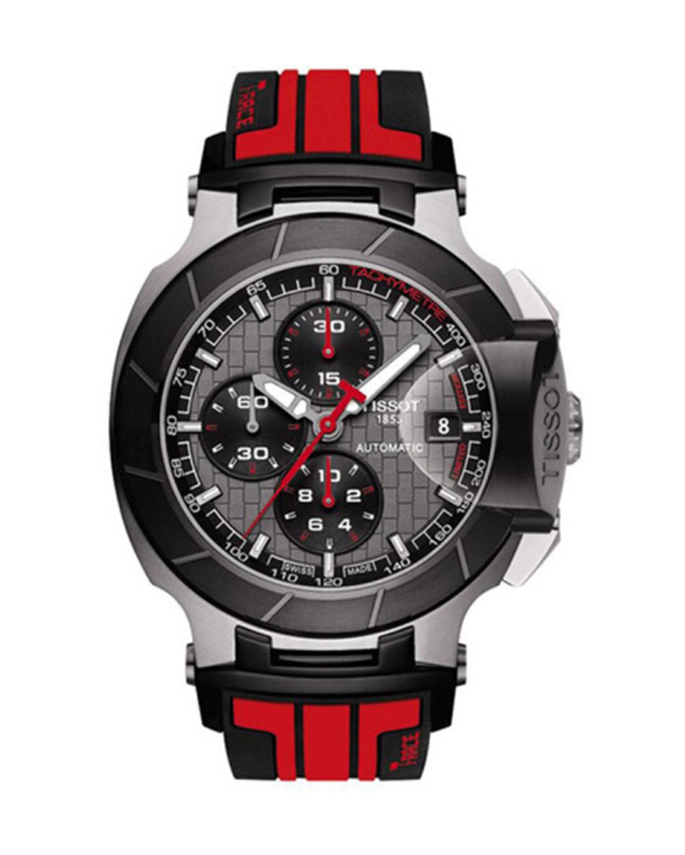 瑞士名表 Tissot 天梭 竞速系列男士防水机械腕表 T048.427.27.061.00