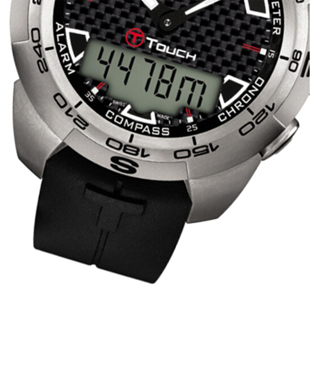 瑞士名表 Tissot 天梭 T-TOUCH腾智系列男士石英腕表 T013.420.47.201.00