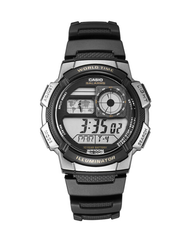 Casio 卡西欧运动防水男士电子表 AE-1000W-1A